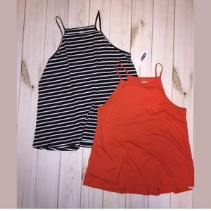 Old Navy Tops LOT 2 Tops Size XS S NWT Used Tanks
